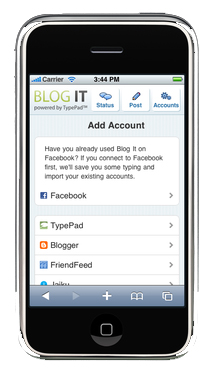 Great Apps for mobile blogging